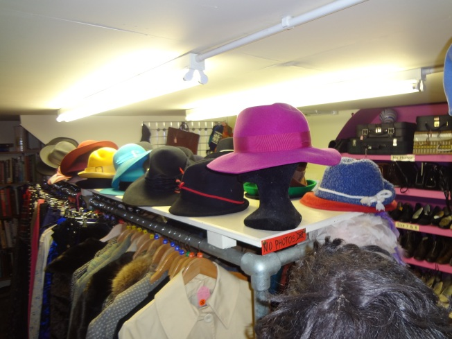 Hats, this is only one third of the great selection there is.