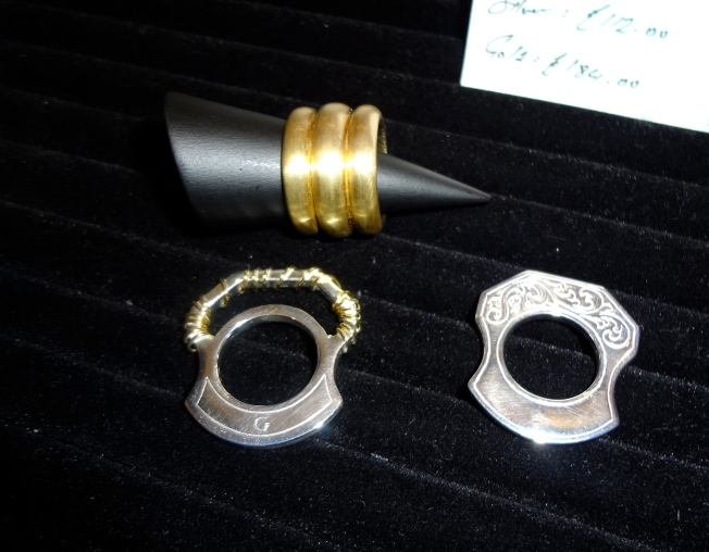 RWTS Ring, Mastiff Ring & Mastiff Wire Ring.