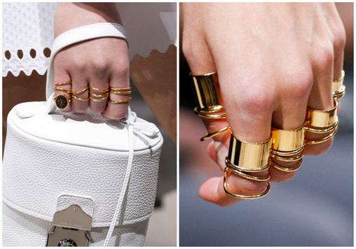 Balenciaga Rings SS13