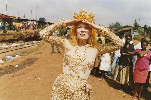 Teller for Vivienne Westwood.