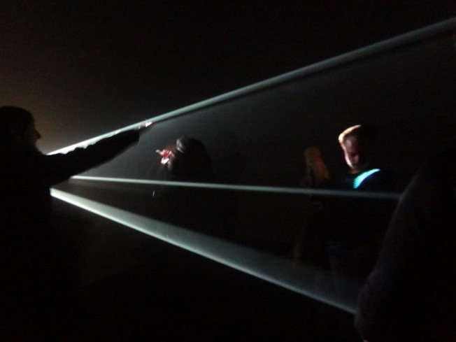 Anthony Mccall, You and I, Horizontal (2005).