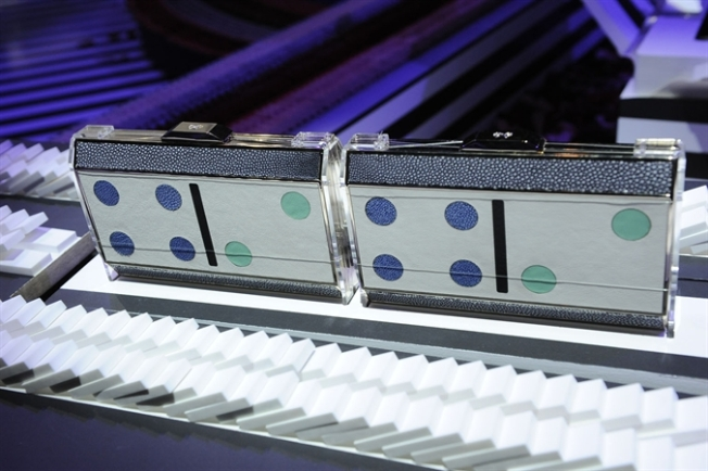 Anya Hindmarch's AW13 awesome Domino Clutch.