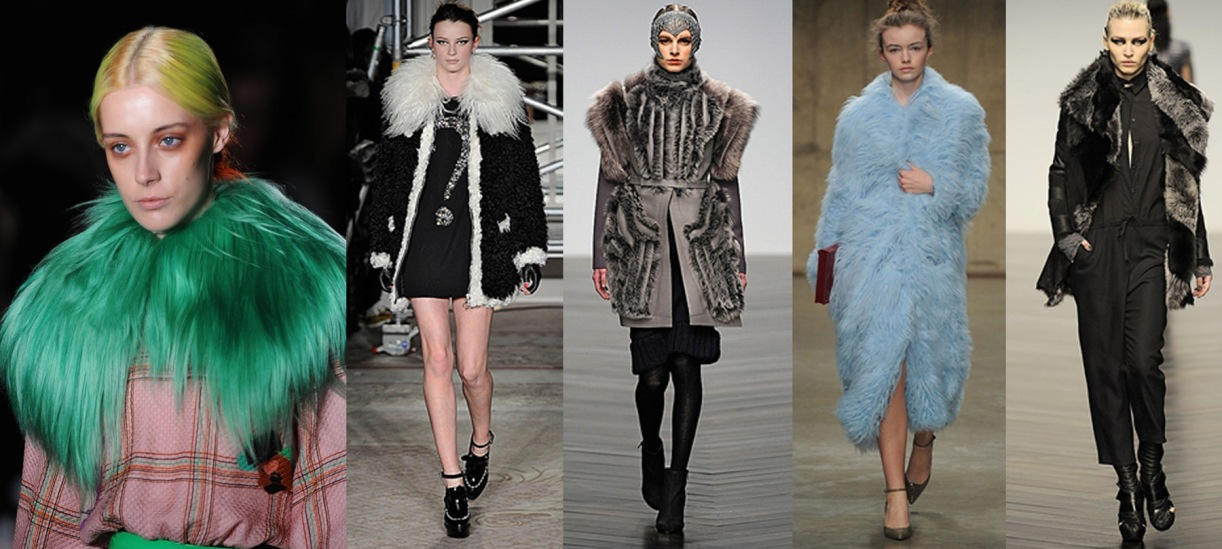 Roksanda Ilincic, Cheap & Chic by Moschino, Bora Aksu, Fashion East and Aminaka Wilmont AW13.