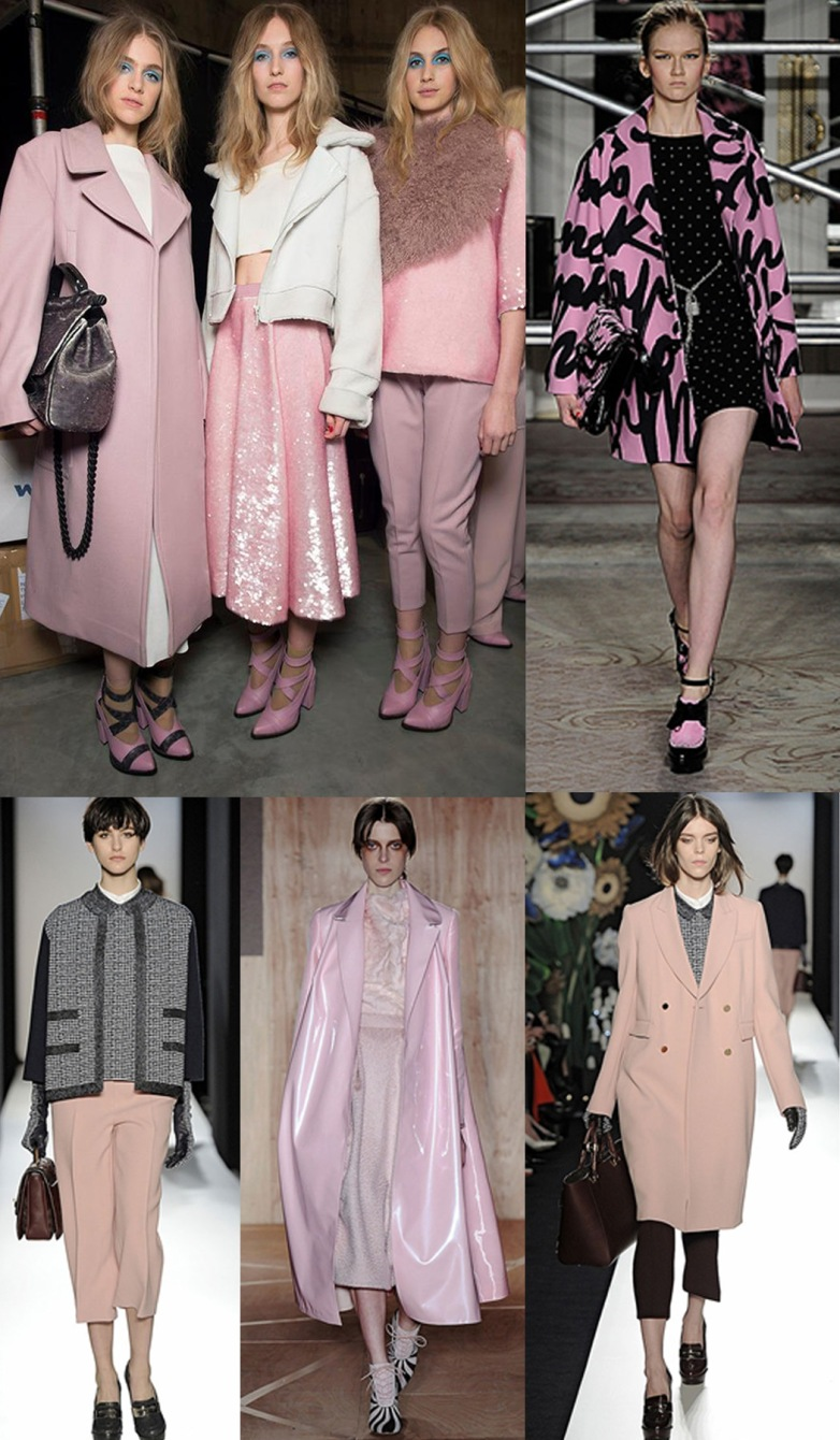 Powder Pink, definitely will be big in AW13.
