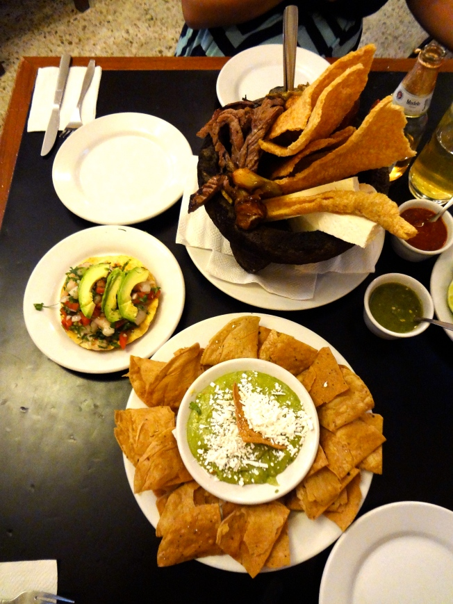 Food at La Coyoacana